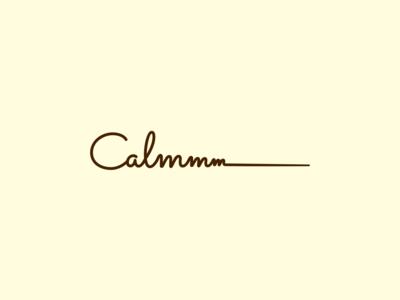 Calmmm logo | silk linens