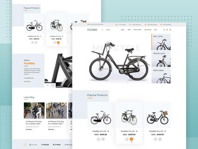 Postbike Web Design
