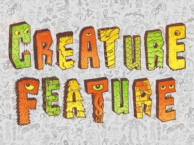 Creature Feature: Title Card