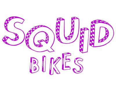 Squid Bikes Logo Variation