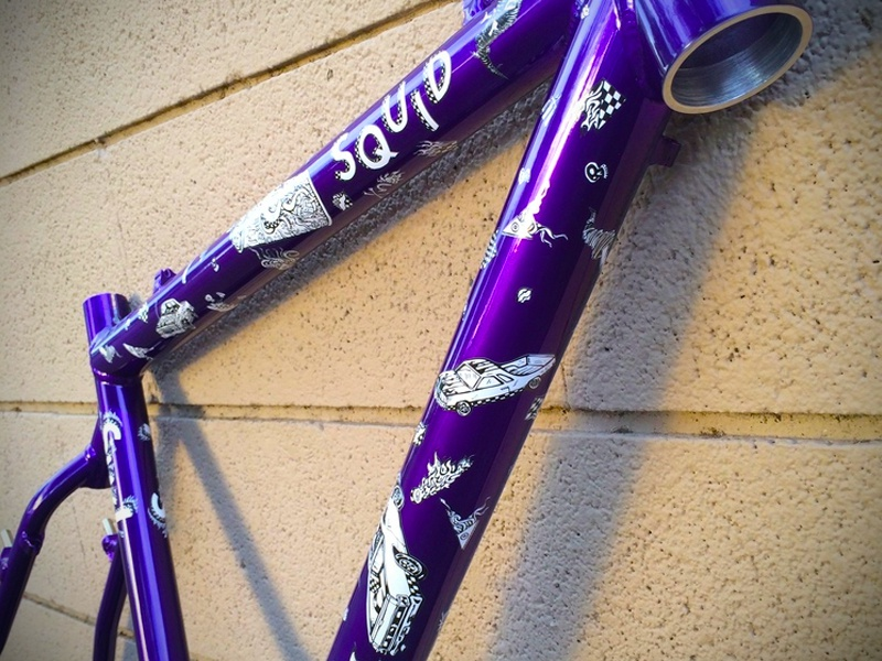 Squid Bikes: Anthony Clark Pro Model squid bikes tornado mermaid swl graphics cyclocross cx squid bikes el camino