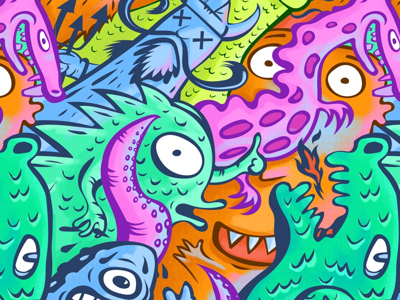 Squid Bikes | Emily Kachorek Pro Model squid bikes monsters beasts cats creatures swl graphics cyclocross cx squid bikes