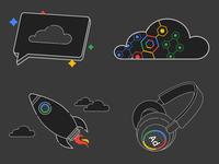 Google Dark Mode Icons