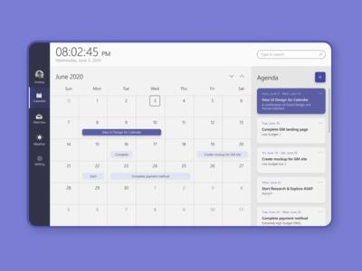 Microsoft Teams Calendar Redesign ux design ui design ux ui teams mail app human interface interface microsoft fluent design design calendar ui calendar app app