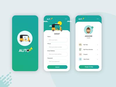 AUTO - Mobile App Design