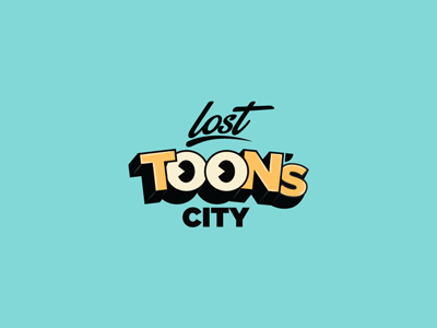 Lost Toon's City  cartoons city lost animation toons toon park theme park branding