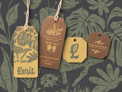Lerit packaging brand wacom engrave logo design illustration handmade hand lettering calligraphy lettering