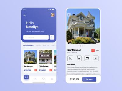 Home Finder App home finder uidesign app ui real estate app realestate application design ui  ux application ui app design ux ui ui design