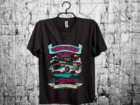 car t shirt design.