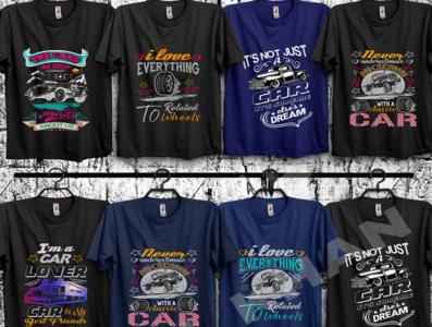 Car t shirt bundle.