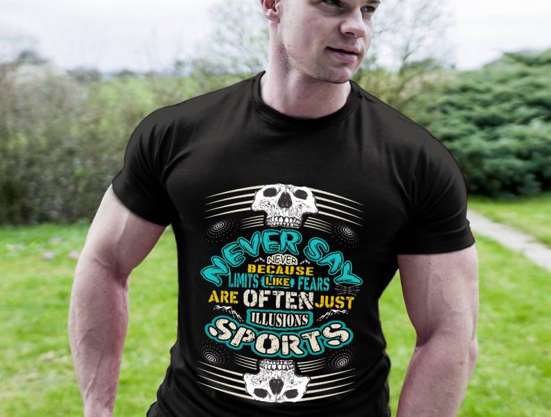 Sports T Shirt Design By Billal Khan On Dribbble