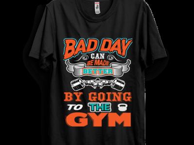 gym t-shirt.