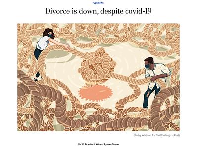 Washington Post covid19 editorial illustration illustration
