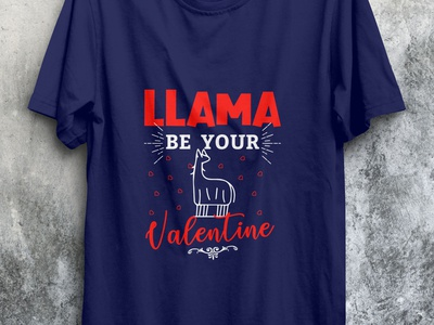 Lama be your valentine