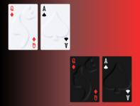 Soft UI/Skeuomorphic Playing Cards