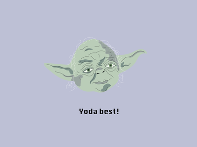 Yoda Best star wars yoda illustration