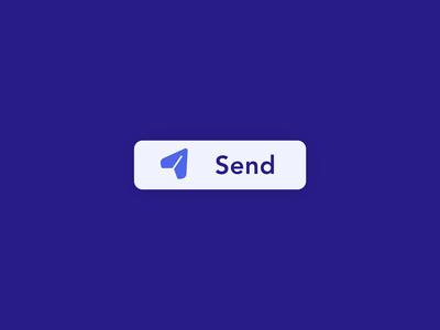 Send Button UI Interaction/Animation interaction animation send animation sending ui uiux uidesign interaction design animation after effects animation