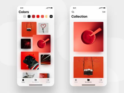 Tiny wallpaper app based on colors