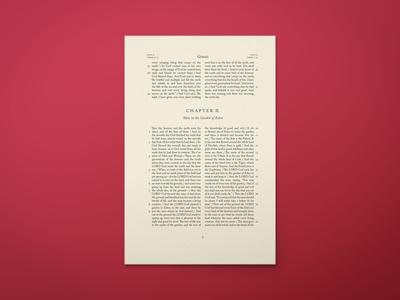 Bible Typography - Viggo Naae