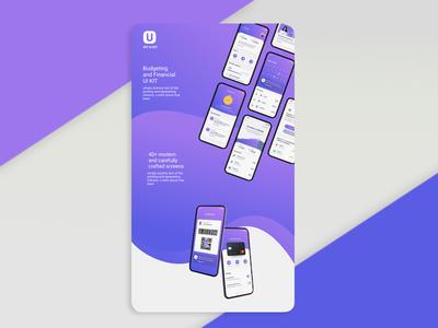 Finance UI Kit mobile app design mobile webdesign mobile ui mobile design mobile app