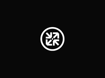 Feed the Machine Logo mark modernist brand mark modern branding graphic design identity logo djcad design