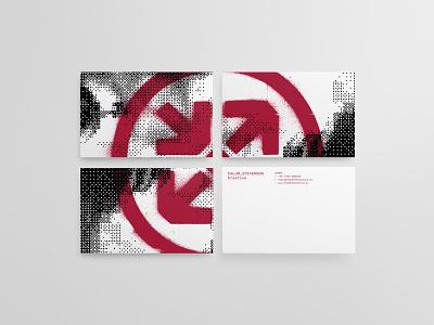 Feed the Machine Business Cards identity branding graphic design artdirection logo design