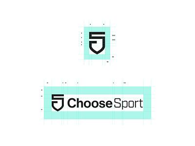 Choose Sport - Construction identity design logo branding graphic design mark sport logo designer nonprofit brand identity brand visual identity sport charity
