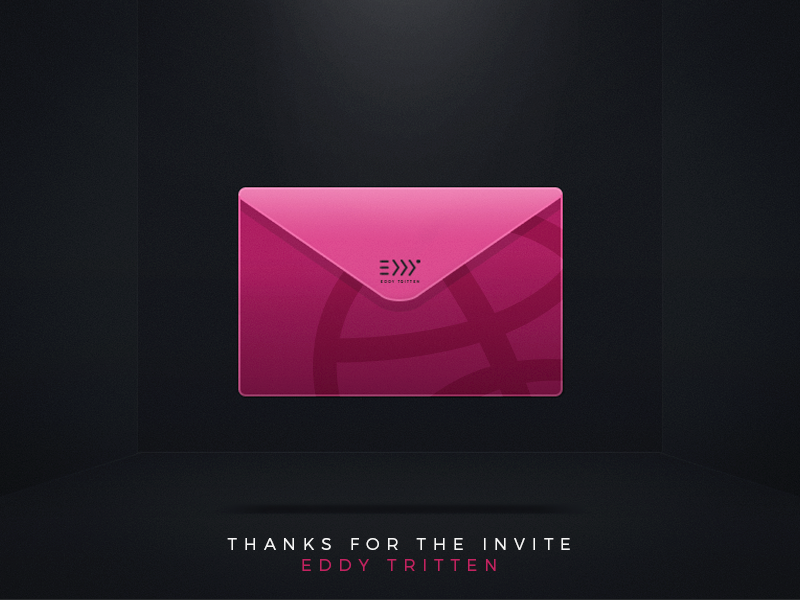 Hey Dribbble! thanks invitation shot first dribbble photoshop design debut invite