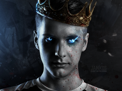 Jankos The First Blood King king composite h2k eulcs legends of league design poster jankos photomanipulation photo