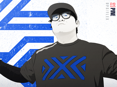 NYXL Pine overwatch esports new york pine illustration owl nyxl league