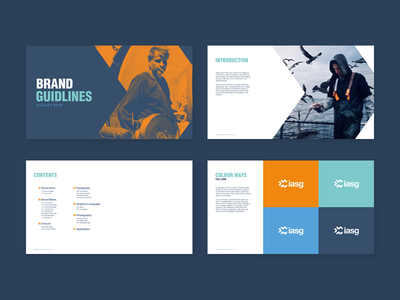 Iasg Museum of Fishing styleguides visual identity museum typography logo design logo fishing branding brand identity design
