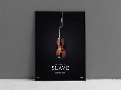 12 Years a Slave typogaphy film festival artdirection poster art 12 years a slave poster photography djcad university design