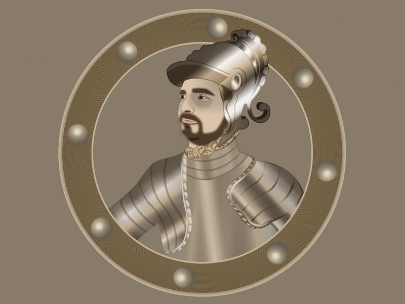 Gladiator graphic ghariheydari milad man design helmet armor war medal brave metal soldiers ancient illustrator gladiator