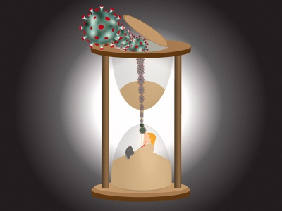 Trump-Hourglass! presidential election covid 19 covid hour glass hourglass donald trump donaldtrump alive trump corona election 2020 election covid-19 covid19 corona virus coronavirus 2020 illustration illustrator