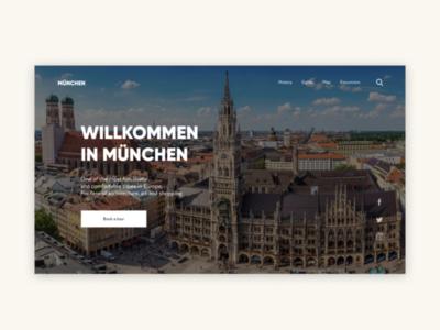 Munich city concept