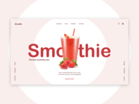 Strawberry smoothie concept №1