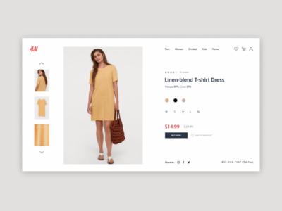H&M redesign