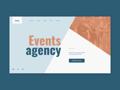 Events agency concept