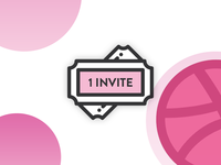 Dribbble invitation!