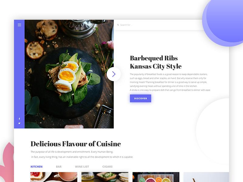 Secret Project. minimalistic ux ui website design web simple concept coffee clean cafe