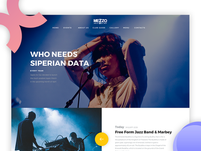 Mezzo Website v2. website ux ui store cafe product mobile ios interaction fashion ecommerce app