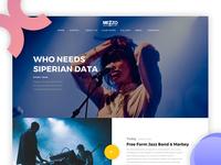 Mezzo Website v2.