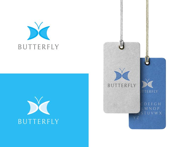 Butterfly Logo logomark blue logo butterfly logo butterfly logo designer logo designs logo design branding logo design concept logodesignchallenge logodesinger logodesignersclub logodesigner logodesigns business logotype logos logo design logodesign logo branding