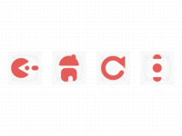 Icons for kids' browser