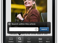 Powerset iPhone App
