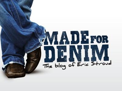 Made For Denim webby denim blog logo branding