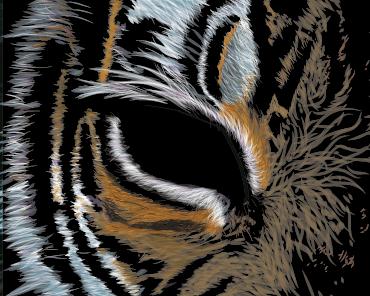 Screen Shot 2010 12 23 At 12.42.00 Pm illustrator vector tiger illustration