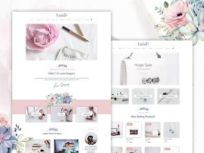 Luisa Blog Multipurpose Divi Theme