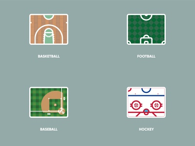 Stadium Concept Vol.1 icon game sports hockey baseball basketball football designs illustration graphic design design graphic illustrator