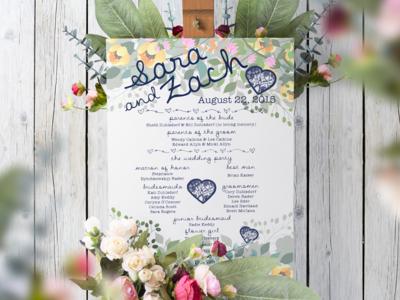 SJZA Wedding Program